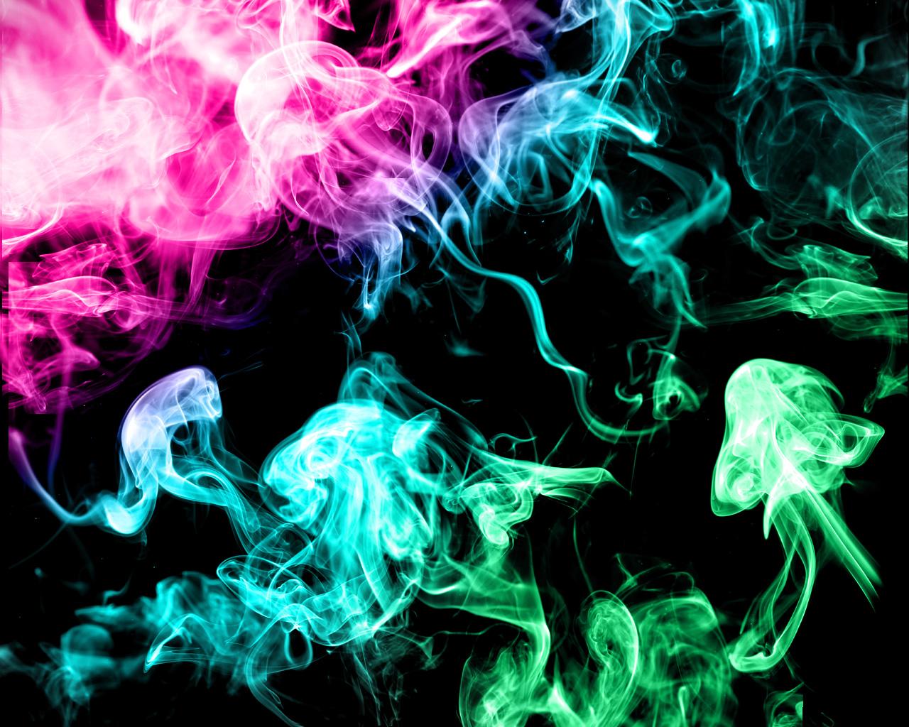 Colorful Smoke ...