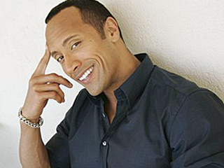 The Rock Dwayne Johnson Smile