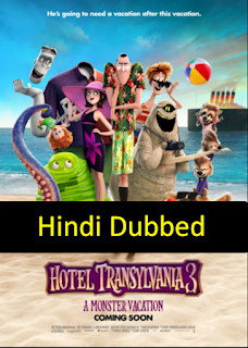 Hotel Transylvania 3 (2018) Hindi (Original) Dual Audio BluRay | 720p | 480p