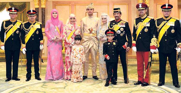 Hamzah Di Majlis Perkahwinan Anakanda Kelima Sultan Brunei Darussalam