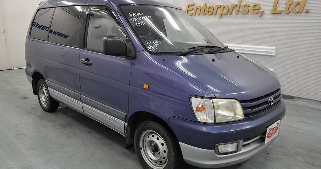 japanese vehicles to the world 1998 toyota townace noah