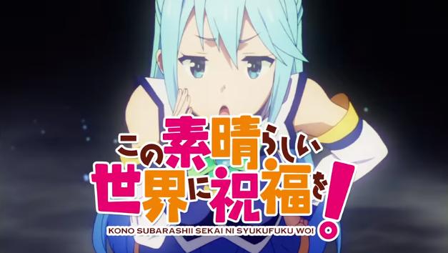 Lagu Pembuka Anime 'Kono Sekai ni Subarashii Shukufuku wo !' Juga Diperdengarkan Di Iklan TV Terbarunya