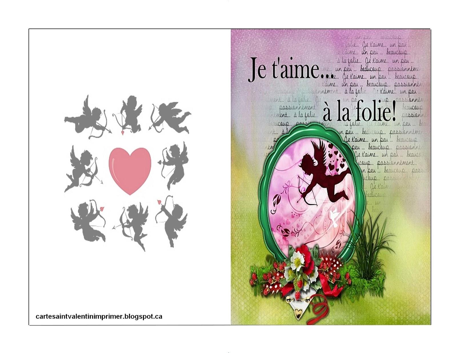 Carte saint valentin imprimer gratuite - Image st valentin gratuite ...