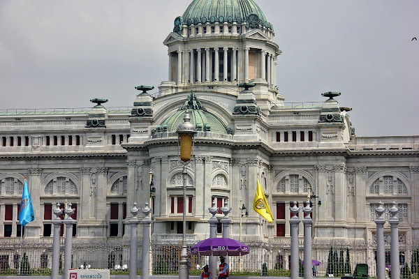Sala del trono Ananta Samakhom - Palacio Dusit - Bangkok
