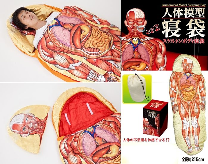 Anatomical Model Sleeping Bag
