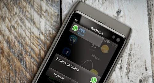 Como actualizar WhatsApp en el Nokia S60 y Nokia S40 facilmente