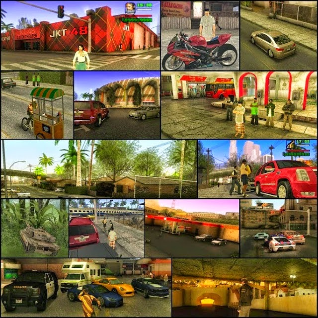 GTA SA Extreme Indonesia For PC Terbaru 2015 Full version
