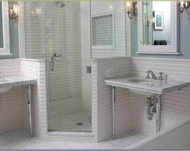 Ba os modernos espejos peque os decorativos for Espejos banos modernos