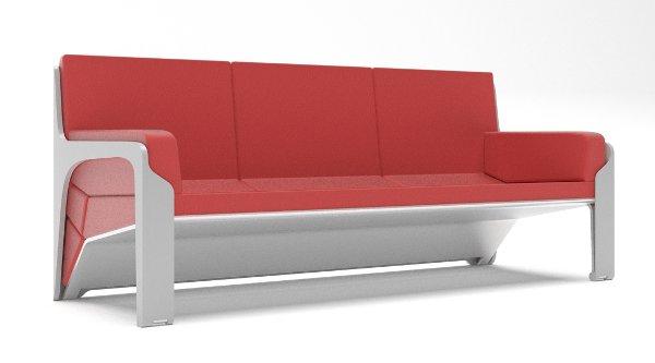 Marzua livdin sof y mesa en el mismo mueble for El mueble sofas