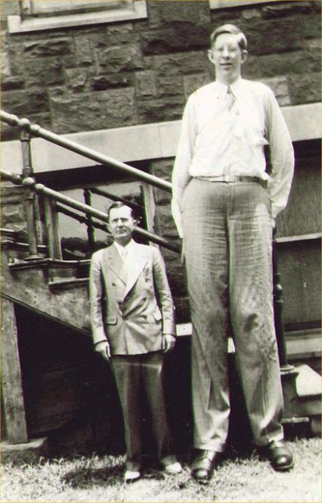 Paranormal And Strange World: Robert Pershing Wadlow - The Tallest ...