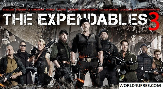 The Expendables 3 2014 HQ DVDScr 480p 350mb