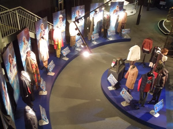 Doctor Who Experience exhibits