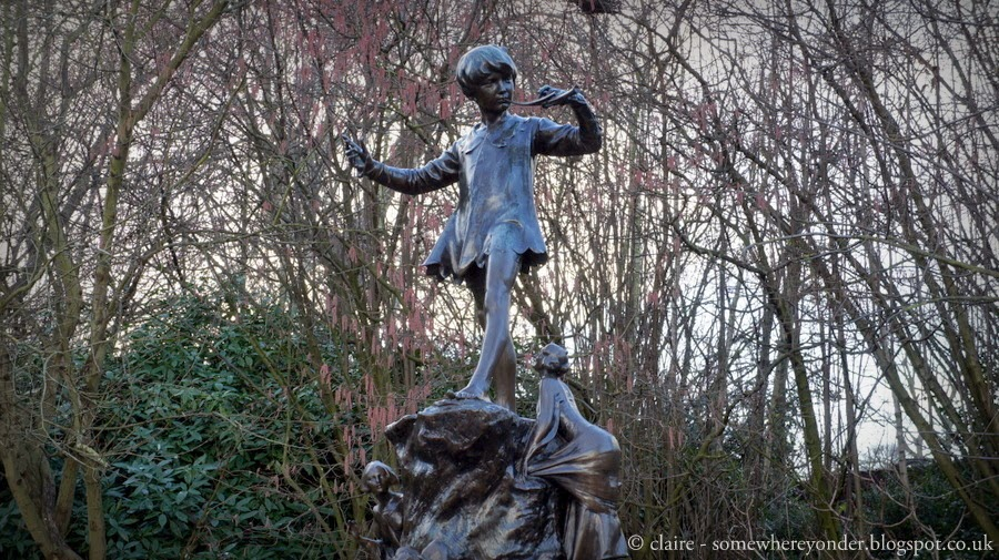 Peter Pan statue - Hyde Park