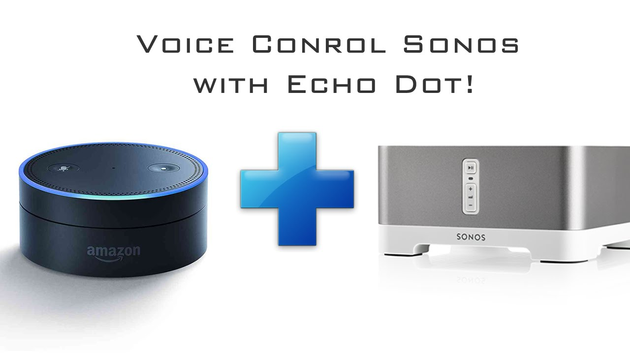 In 2017 amazon echo will control the sonos speakers