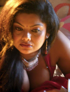 Mallufun.com: Swathi Varma hot navel and cleavage show in saree