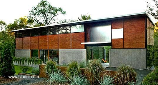 Casa prefabricada moderna Flatpack en Estados Unidos
