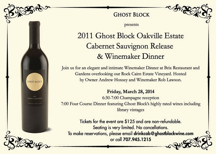 organic wines uncorked napa winemaker dinner in oakville ghost