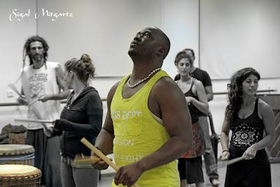 צילום סדנה לריקוד אפריקאי