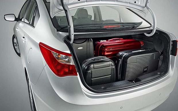 novo Hyundai HB20 Sedan 2014 porta malas