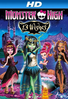 Monster High: 13 Wishes (2013) Hindi Dual Audio BluRay 720p Watch Online and Download