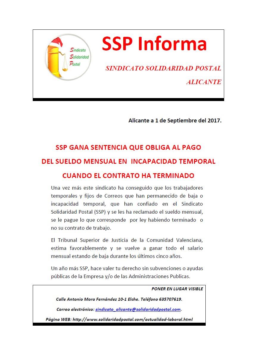 01/09/2017-SOLIDARIDAD POSTAL.COM