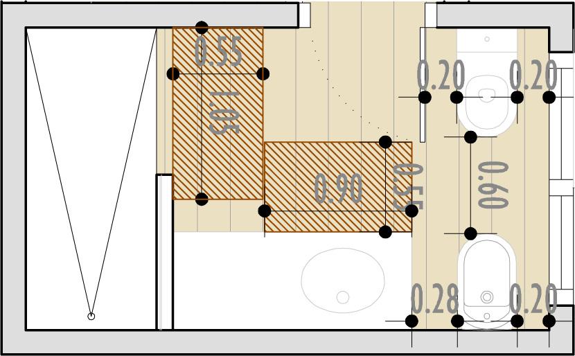 Medidas De Un Baño Normal:BAÑOS, ¿Qué distancias mínimas haran cómodo mi cuarto de baño?