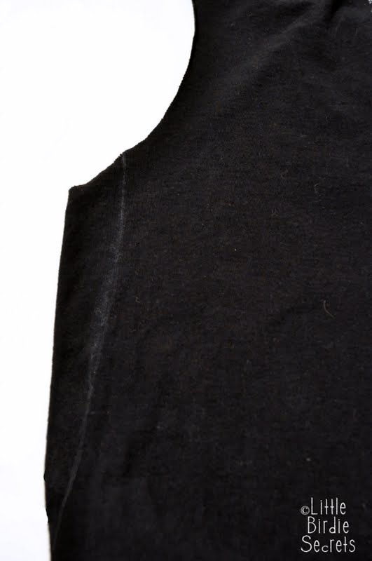 Little birdie secrets how to alter a mens t shirt into a for How much to get a shirt tailored