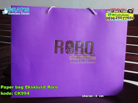 Paper Bag Eksklusif Roro