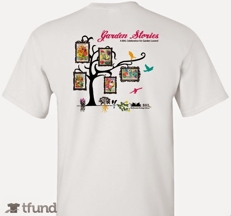 Biodiversity heritage library buy a garden stories t for Garden t shirt designs