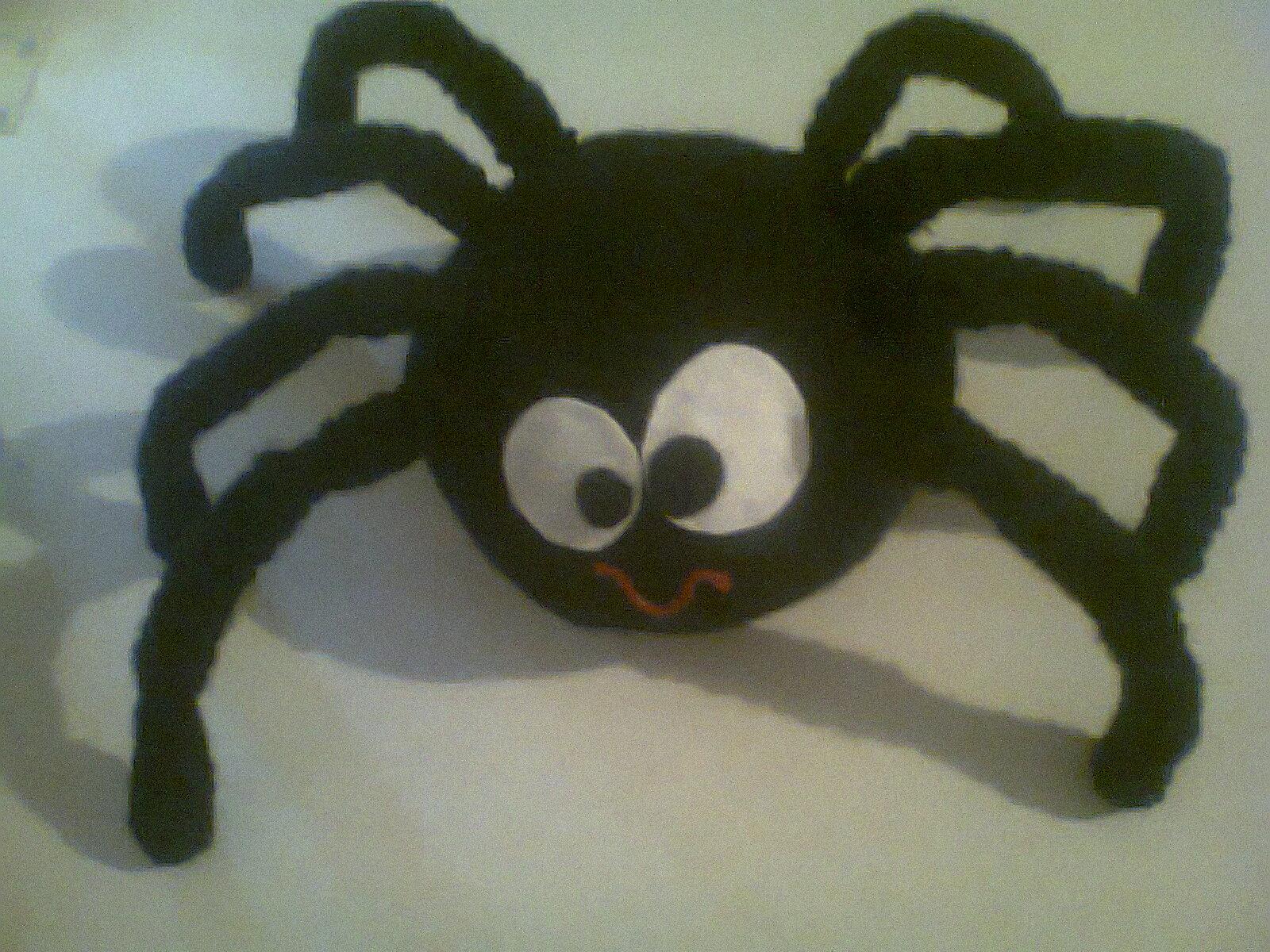 Adorables Tejidos: Ella-la-araña kawaii! xD