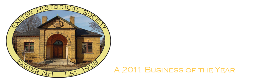 Exeter Historical Society in New Hampshire Local History Programs