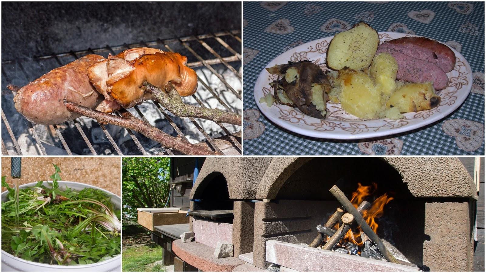 barbecue tarassaco luganeghe