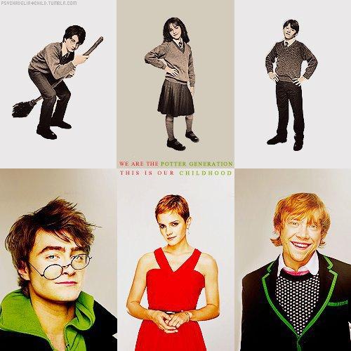 hogwarts alumni harry potter cast evolution