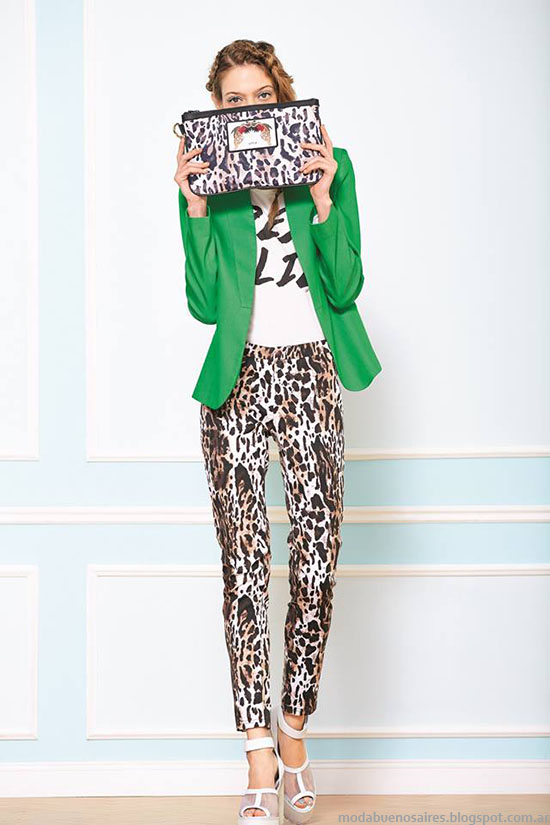 Pantalones de moda primavera verano 2015 Uma.