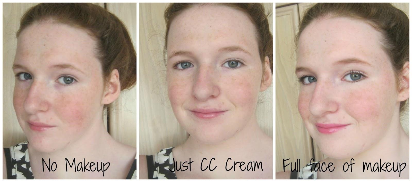 cc cream under foundation