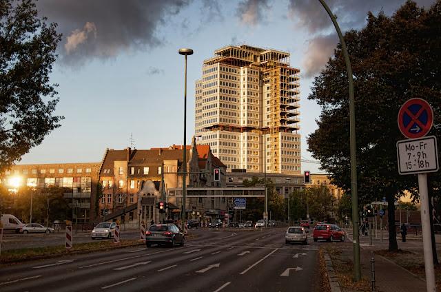 Baustelle Hohenzollerndamm / Seesener Straße, 10709 Berlin, 18.10.2013