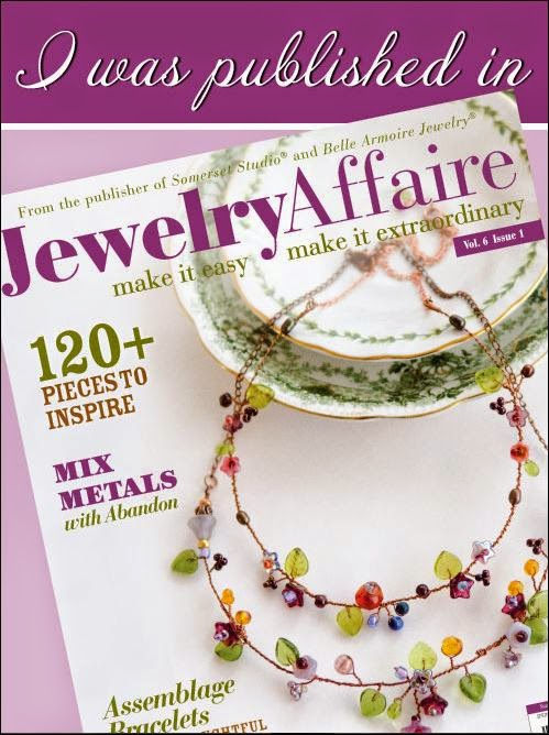 Look for my articles in Jewelry Affaire
