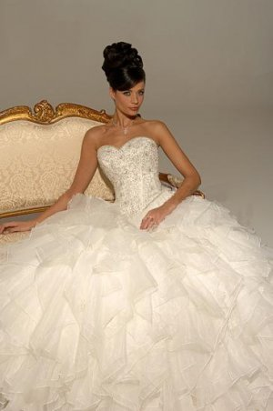 The many princess cut wedding dresses available all have a few elements in