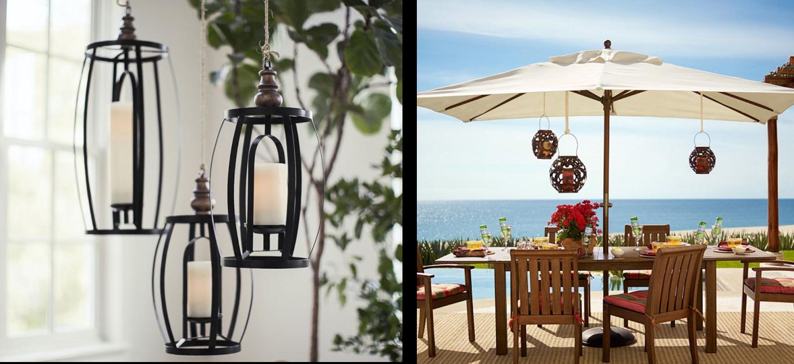 Decoraci n f cil faroles para iluminar y decorar for Faroles para jardin exterior