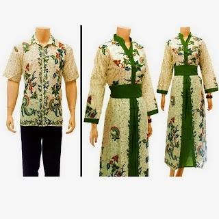 baju gamis batik sarimbit muslim