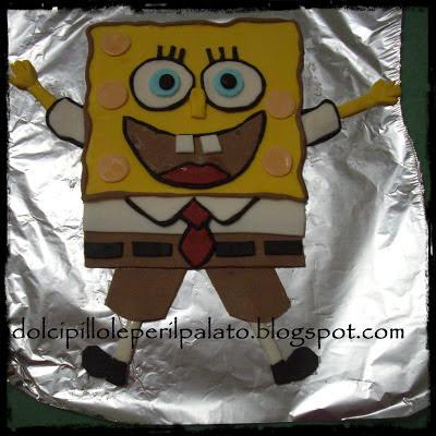 Dolci pillole per il palato spongebob cake - Pagina a colori spongebob ...