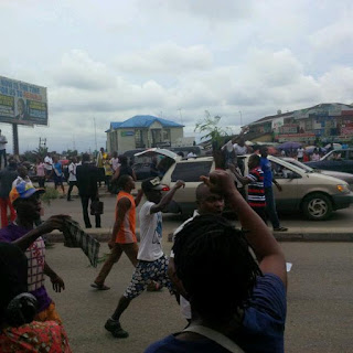 Igbo youths protest over arrest of Radio Biafra director