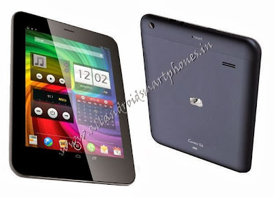 Micromax Canvas Tab P650 Android Tablet Black Front Back Images & Photos Review