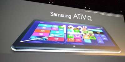 Samsung Ativ Q, Tablet Windows 8 dan Android