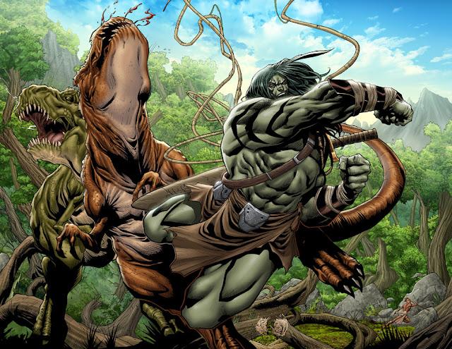 Skaar Character Review - Skaar Vs T-Rex