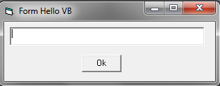 Memulai Membuat Program Visual Basic 6.0