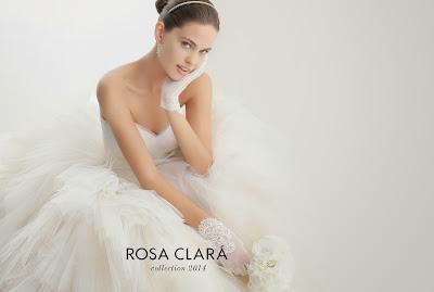 Bodas: Las novias de Rosa Clará para el 2014