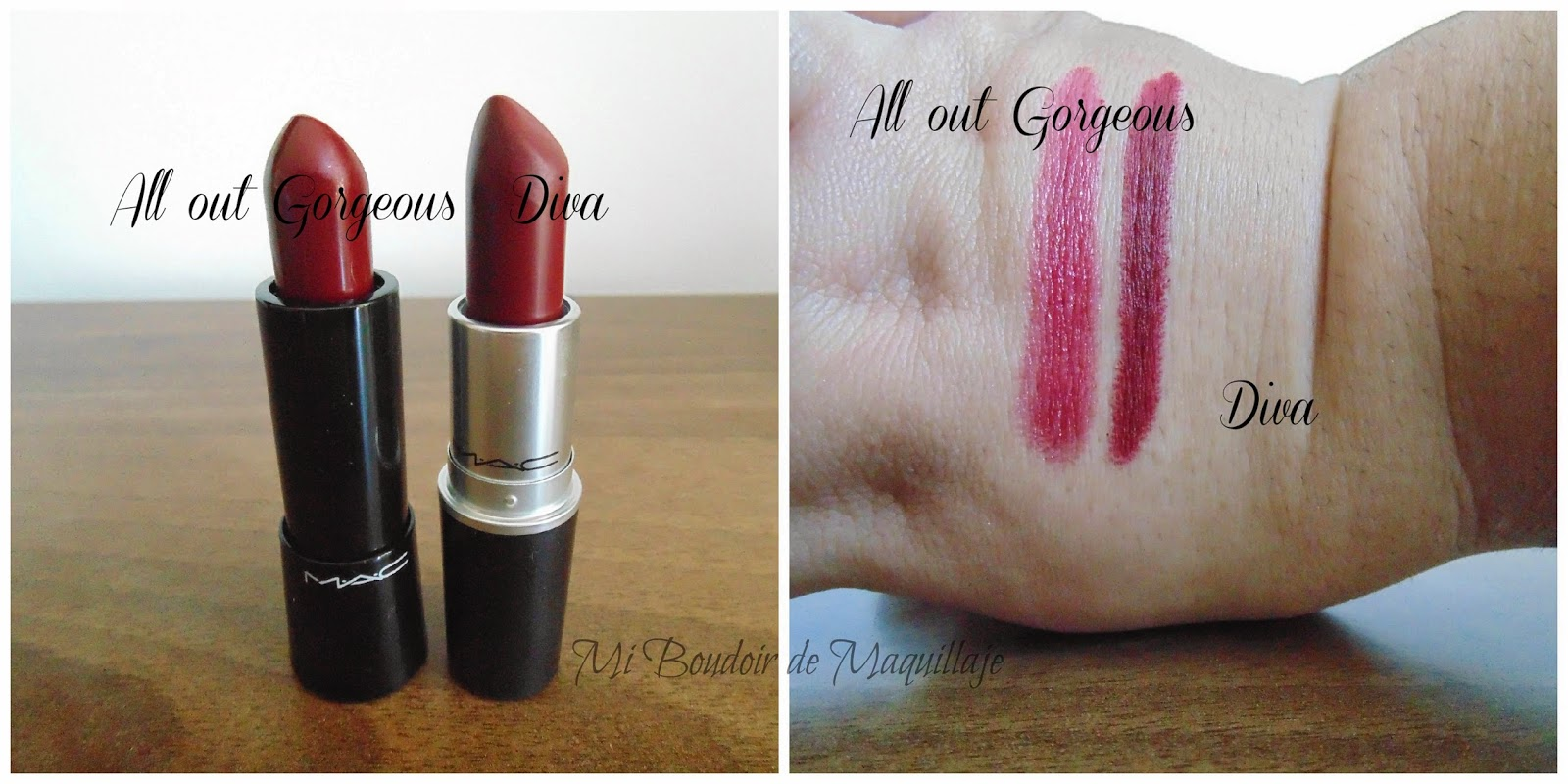 DIVA Y ALL OUT GORGEOUS MAC LIPTSTICK