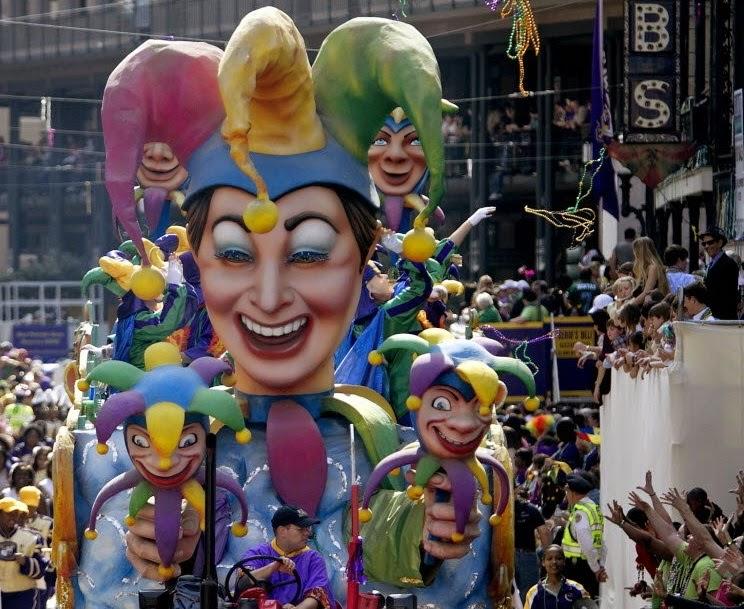 Carnaval de Madi Gras. Los mejores carnavales del mundo
