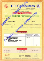 Sharda computer classes dca certificate course in sharda computer dca certificate sample yelopaper Image collections